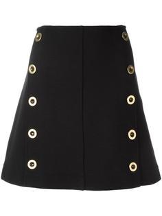 юбка в стиле милитари Chloé
