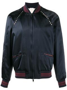 куртка-бомбер Rockstud Valentino