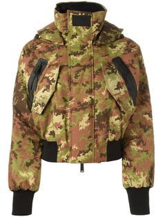 лыжная куртка-бомбер Dsquared2