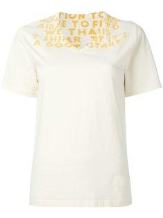 футболка с V-образным вырезом  Maison Margiela