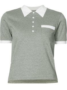 рубашка-поло с принтом Thom Browne