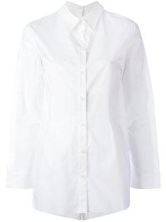 рубашка с застежкой на спине Mm6 Maison Margiela