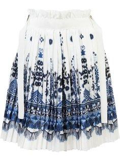 юбка с узором Sacai
