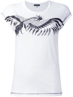 футболка с принто дракона Ann Demeulemeester