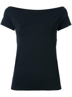блузка с открытыми плечами Helmut Lang