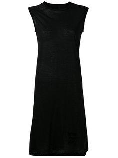приталенное платье Rick Owens DRKSHDW