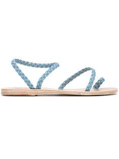 джинсовые сандалии Eleftheria Ancient Greek Sandals
