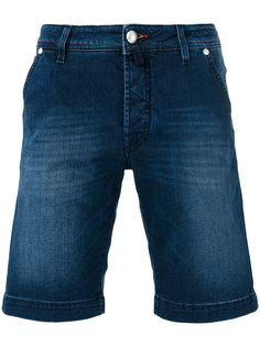 прямые джинсовые шорты Jacob Cohen