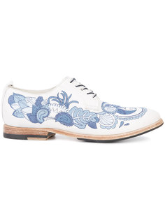 туфли на шнуровке Sartori Gold