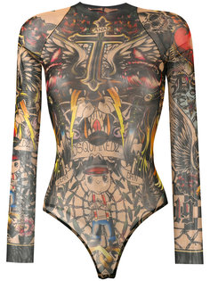 боди Tattoo Dsquared2