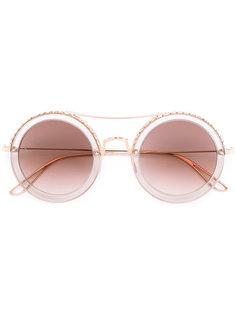 солнцезащитные очки круглой формы Elie Saab