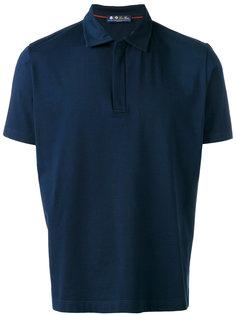 рубашка-поло с воротником на молнии Loro Piana