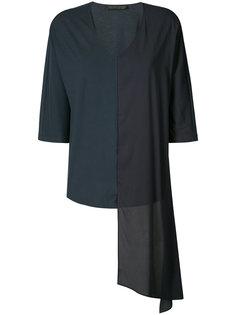 асимметричная блуза Fabiana Filippi