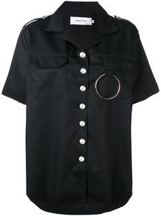 шелковистая рубашка с короткими рукавами Marquesalmeida
