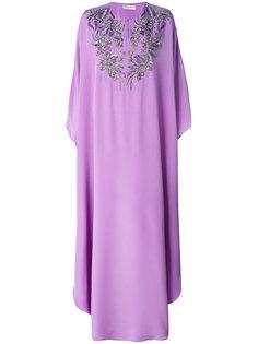 платье-туника с вышивкой  Emilio Pucci