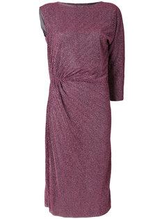 блестящее платье с драпировкой  A.F.Vandevorst