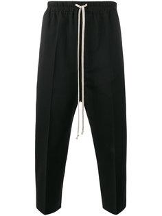 укороченные классические брюки с талией на шнурке Rick Owens