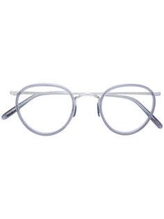 очки с круглой оправой Oliver Peoples