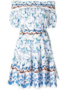 платье с заниженной линией плеч Peter Pilotto
