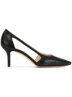 туфли-лодочки с вырезным дизайном с блестками Casadei