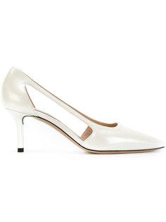 туфли с вырезными деталями Casadei