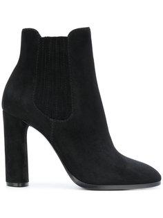 ботинки-челси на каблуке Casadei