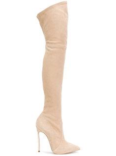 8e3477b2d90b Купить женские ботфорты Casadei в интернет-магазине Lookbuck ...