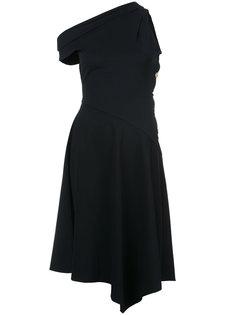 платье миди на одно плечо  Derek Lam 10 Crosby