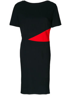 платье с короткими рукавами Lanvin