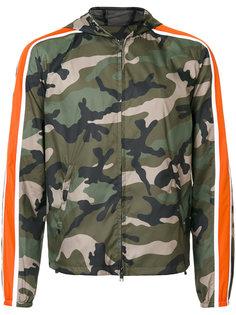 камуфляжная куртка с капюшоном Valentino