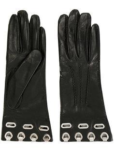 перчатки с люверсами Ermanno Scervino