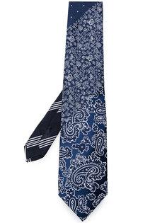 """галстук с узором """"пейсли"""" Etro"""