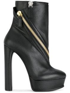 ботинки на платформе Casadei