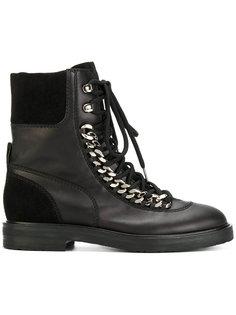 ботинки City Rock с цепочной отделкой Casadei