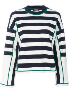свитер в полоску Dsquared2