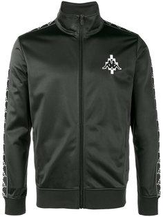 куртка на молнии Marcelo Burlon x Kappa Marcelo Burlon County Of Milan