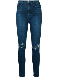 укороченные облегающие джинсы Siren Nobody Denim