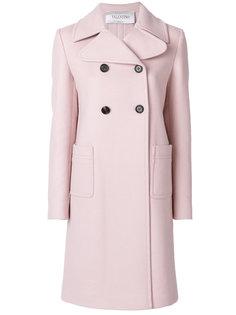 классическое двубортное пальто Valentino