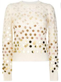свитер с пайетками Marc Jacobs