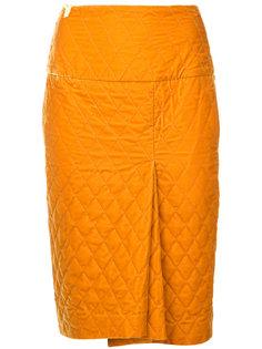 стеганая юбка-карандаш 08Sircus