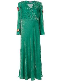 вечернее платье с запахом Vivetta