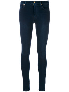 эластичные джинсы скинни 7 For All Mankind
