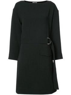 платье с поясом Nomia