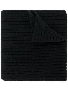 шарф с нашивкой логотипа Prada