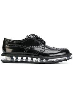 туфли Allacciate на шнуровке Prada