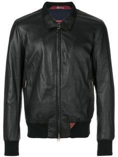классическая байкерская куртка Stewart
