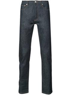 джинсы средней посадки A.P.C.