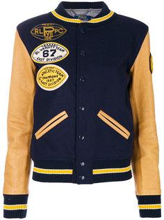 декорированная куртка бомбер Polo Ralph Lauren