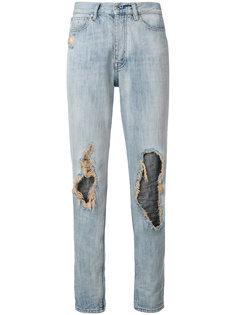 джинсы с рваными деталями Iro