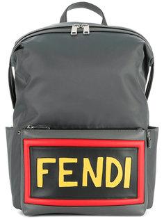 рюкзак с нашивкой логотипа Fendi